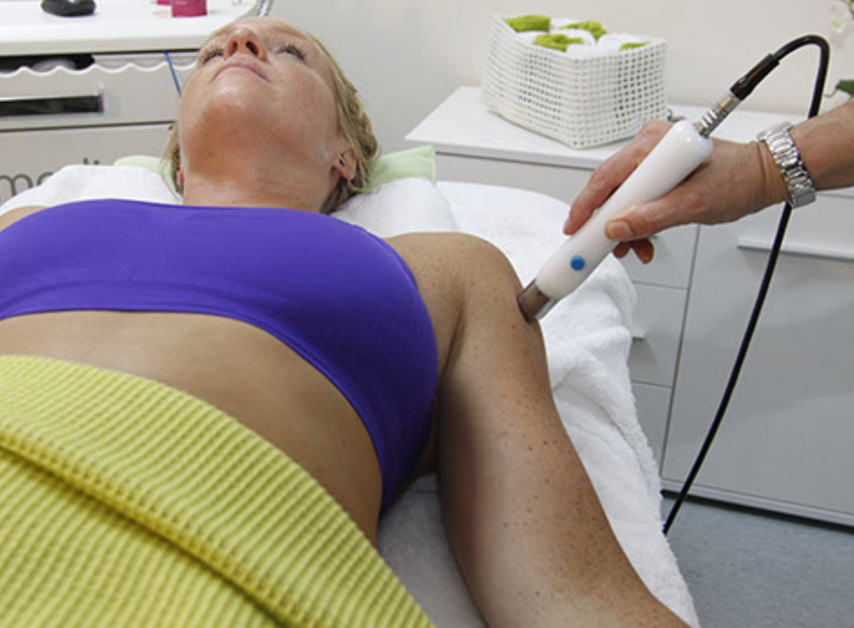 Armbehandlung mit cymedics